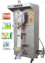 供应石家庄YB-1袋装液体包装机,袋装牛奶包装机,济南冠邦价格低