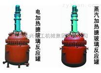 山東龍興-搪瓷反應釜   電加熱反應釜  搪瓷反應釜