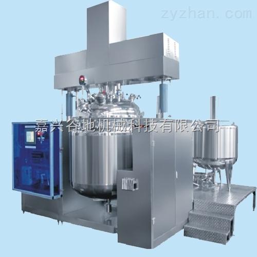 双柱液压升降乳化机