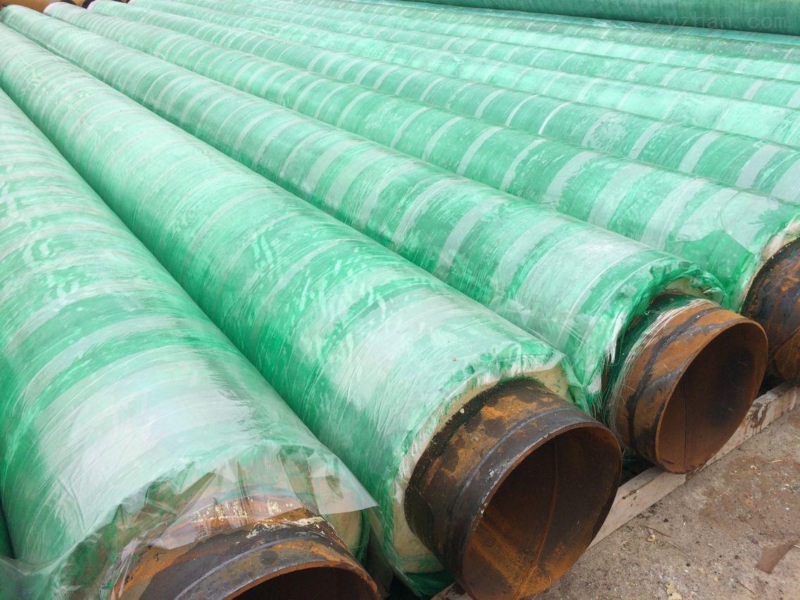 油田改造预制保温管//DN325螺旋管保温成品价格//及管件报价