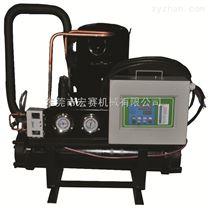 低温螺杆式冷水机厂家 5匹开放式工业制冷螺杆式冷水机价格