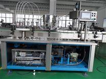 安徽廠家直銷浩悅TM-2140型全自動液體灌裝旋(軋)蓋機