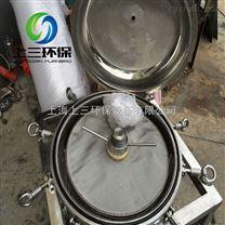 硅藻土过滤器 全不锈钢材质 卫生级酒类过滤器 配不锈钢泵