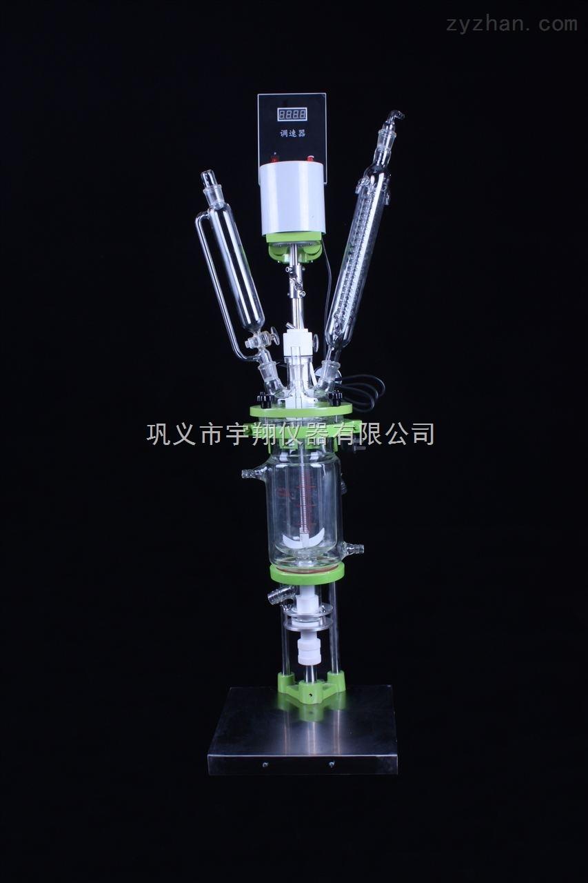 双层玻璃反应釜价格