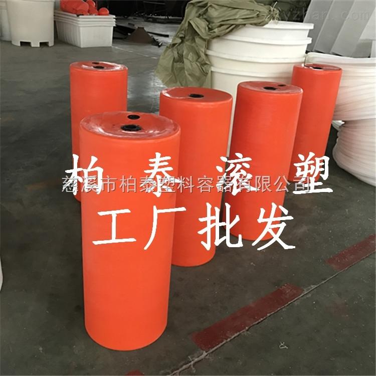 带太阳能灯警示浮标,PE塑料浮体,内河航标生产厂家