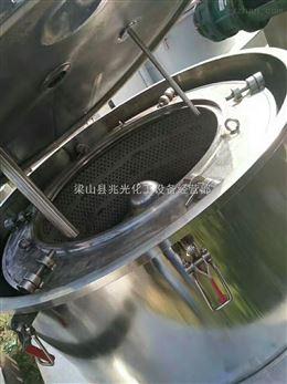 二手1600型平板刮刀吊带衬塑离心机9成新