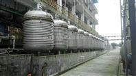 多台二手10吨不锈钢导热油加热反应釜