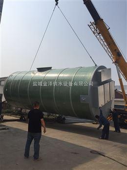 玻璃钢雨水一体化提升泵站防涝排污发展史
