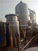 供货二手蒸发结晶器三效双效浓缩蒸发器