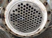 二手80平方钛材列管式冷凝器