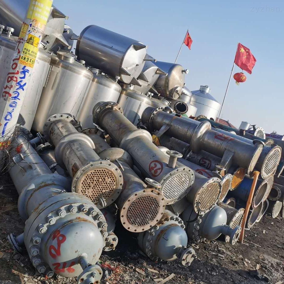 二手钛材列管式冷凝器