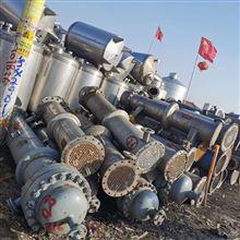120二手钛材列管式冷凝器
