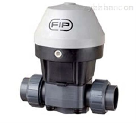 意大利进口FIP气动UPVC隔膜阀MK系列