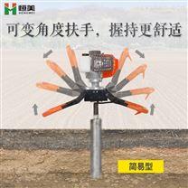 土壤取樣鉆機工作原理