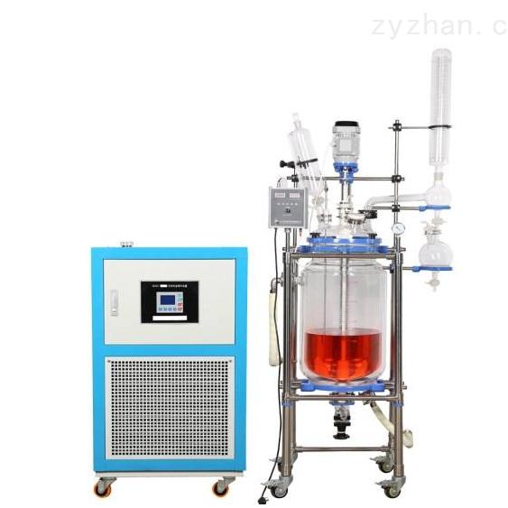 供应大型玻璃反应釜150L
