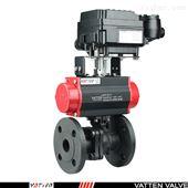VT2BDF33A气动衬氟开关球阀