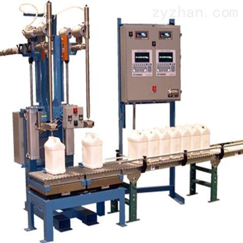 上海广志5L食用油灌装设备,称重液体灌装机