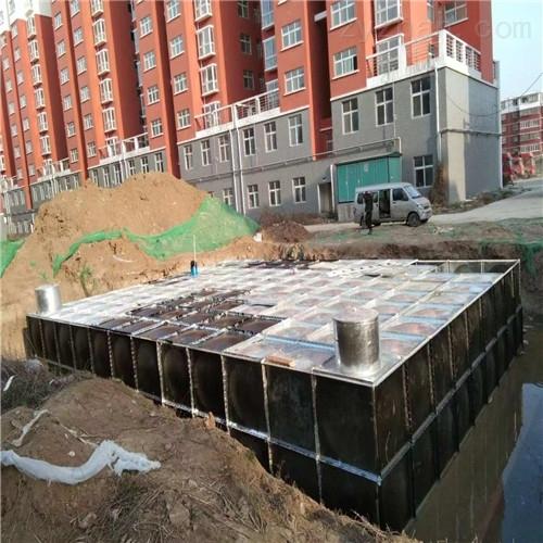 南京地埋式箱泵一体化