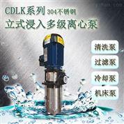 潤滑液輸送泵多級浸入數控機床加工離心泵