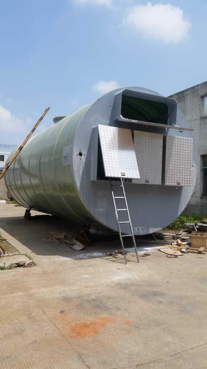 广东3.8m*7.2m一体化污水提升泵站