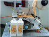 GLB-40厨房油污清洗剂瓶贴商标机器 塑料扁瓶贴标机